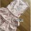 เดรสผ้าคอตตอนสีชมพูทับด้วยลูกไม้ thumbnail 6