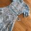 เดรสสั้นผ้าลูกไม้สีฟ้าสดตกแต่งระบายสไตล์เฟมินีน thumbnail 7