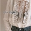 เดรสผ้าคอตตอนสีขาวตกแต่งลูกไม้สไตล์วินเทจ thumbnail 2