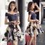 เดรสลุคสาว Fashionista เป็นเดรสทรงเปิดไหล่ thumbnail 2