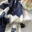ชุดเซ็ท2ชิ้นคะ เสื้อเนื้อผ้าชีฟองพิมพ์ลายดอกไม้ thumbnail 6