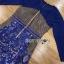 ชุดเดรสผ้าลูกไม้สีน้ำเงินสด ทรงบอดี้คอน thumbnail 7