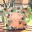 ** พร้อมส่งค่ะ ** กระเป๋าสะพายข้าง ลายแมวน้อย สีเขียว thumbnail 4