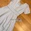 เดรสผ้าคอตตอนตกแต่งลูกไม้สีเทาอ่อนสไตล์วินเทจ thumbnail 5