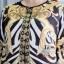 ชุดเซ็ต เสื้อคลุมตัวยาว +เดรสลูกไม้ thumbnail 4