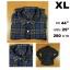 เสื้อเชิ้ตลายสก๊อต เสื้อเชิ้ตUNIQLO Size XL thumbnail 1