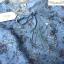 เดรสชีฟองสีฟ้า ช่วงคอแต่งผ้าลูกไม้ คอผูกโบว์ thumbnail 6