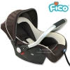 คาร์ซีท กระเช้า Fico รุ่น HB801 (สีดำ) [สำหรับเด็ก แรกเกิด - 15 เดือน]