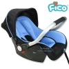 คาร์ซีท กระเช้า Fico รุ่น HB801 (สีฟ้า) [สำหรับเด็ก แรกเกิด - 15 เดือน]