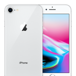 iPhone 8 256GB (Silver)ประกันศูนย์ไทย1ปี