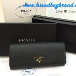 กระเป๋าแบรนด์ Prada wallet งานHiend