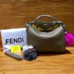 กระเป๋าแบรนด์ Fendi monster ขนาด 10นิ้ว งาน top premium