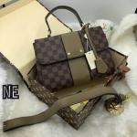 กระเป๋าแบรนด์Louis Vuitton Damier Ebene canvas BOND STREETtop premium