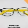 กรอบ + เลนส์มัลติโค๊ต เหลือง Size 52-17-138
