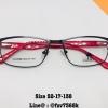 กรอบ + เลนส์มัลติโค๊ต แดง Size 52-17-138