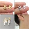 ต่างหูสไตล์มินิมอล Minimalist Stud Earrings