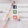 ปากกาสีรุ้ง 🌈 Rainbow Gel Pen ฝาใส