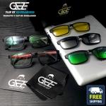 แว่นตากรองแสง GEZE 3 คลิปออน