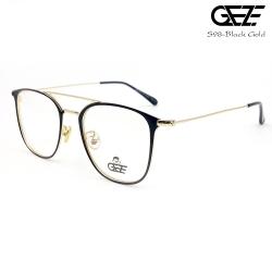 แว่นตาผู้ชาย โลหะ Vintage น้ำหนักเบา ใส่สบาย GEZE รุ่น S98-BLACK GOLD อายุการใช้งานยาวนาน ด้วยโลหะพิเศษ
