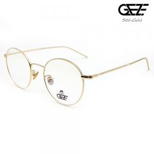 แว่นตาทรงกลม โลหะ Vintage น้ำหนักเบา ใส่สบาย GEZE รุ่น S26 GOLD อายุการใช้งานยาวนาน ด้วยโลหะพิเศษ